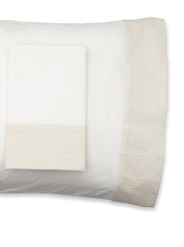 Mili Designs Pair of Sintra Pillowcases (Beige)