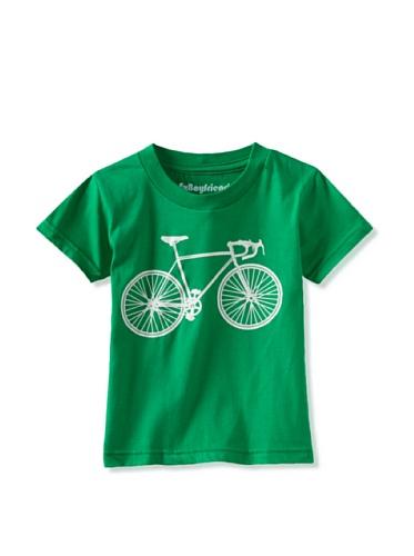 Ex-Boyfriend Boy's Bike Love T-Shirt (Green)