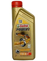 Castrol Power 1 15W-40 Petrol Engine Oil for Two Wheelers (1 L)
