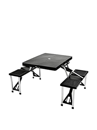 Picnic at Ascot Portable Picnic Table Set (Black)