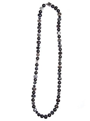 Pertegaz Collar Perlas Negras