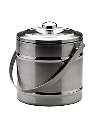 MIU France Stainless Steel Double-Wall Ice Bucket (Silver)