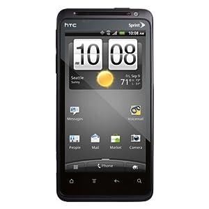 HTC Evo Design 4G Smartphone-Black & White