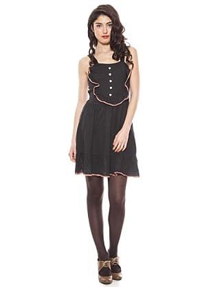 La Casita de Wendy Vestido Calados (negro)
