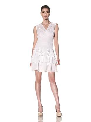 Nanette Lepore Women's Gauze Saloon Dress (White)