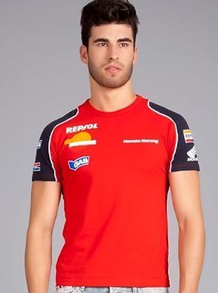 Gas Camiseta Helvis (Rojo / Marino)