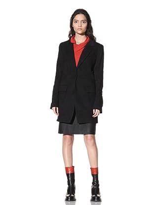 Ann Demeulemeester Women's Jason Puckered Jacket (Black)