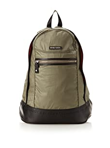 Diesel Men's On The Road Twice New Ride Backpack (Green)