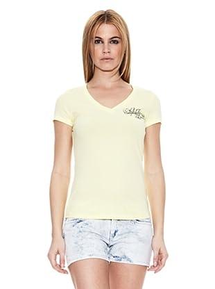 Pepe Jeans London Camiseta Mavi (Amarillo Claro)