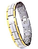 AMAZHEAL BIO MAGNETIC TITANIUM BRACELET WITH QUANTUM PENDANT DESIGN 104