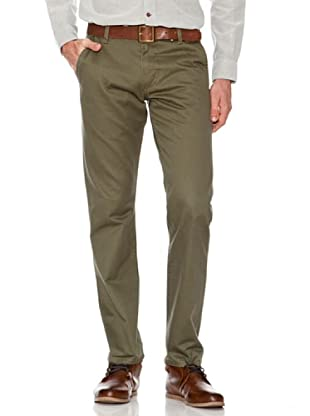 Dockers Pantalón Alpha de Color (Verde)