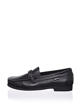 Pliner Jrs Ethan Loafer (Black Leather)