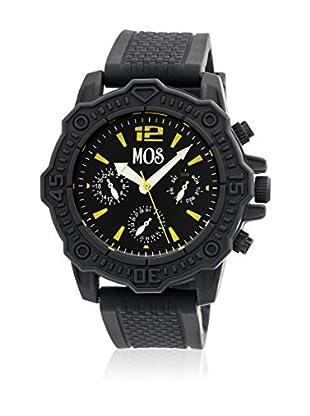 Mos Reloj con movimiento cuarzo japonés Mospg102 Negro 45  mm