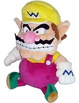 "Official Nintendo Super Mario Plush Series Stuffed Toy 9"" Wario (Japanese Import) By San Ei"