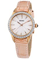 Seiko Analog White Dial Women's Watch - SRZ388P1