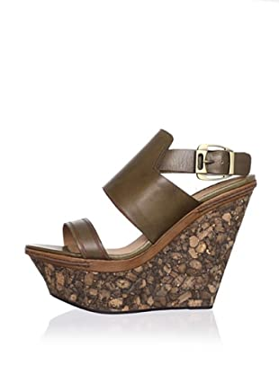 Modern Vintage Women's Valeree Wedge Sandal (Parsley)