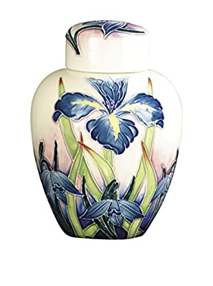 Dale Tiffany Iris Jar, Blue Multi