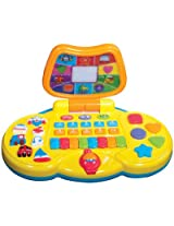 Mee Mee Interactive Kiddle Laptop MM-1069,Multi Color