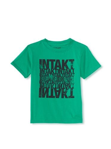 iNTAKT Boy's Intakt Logo Tee (Green)