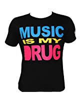 Music Is The Drug Tee