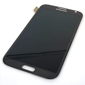 Touch Digitizer Glass for Samsung Galaxy Note II - Grey
