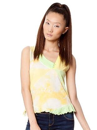 Custo T-Shirt (Gelb/Grün)