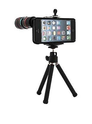 Unotec Trípode Zoom 8X iPhone 5 / 5S Negro
