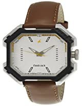 Fastrack Analog White Dial Men's Watch - 3100SL01
