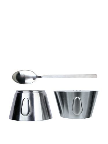 BergHOFF 9-Piece Egg Cup Twin Set (Silver)