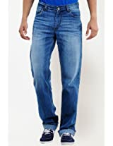 Steven Slim Fit Light Wash Jeans Yepme