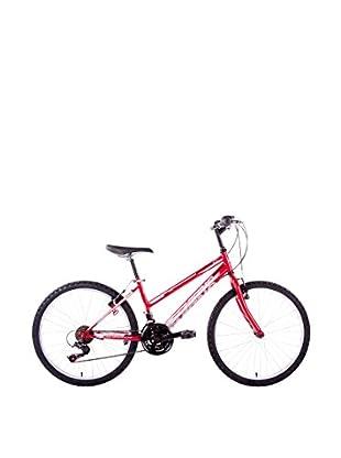 Schiano Cicli Bicicleta 24 Wild Cat, 18V. Rojo