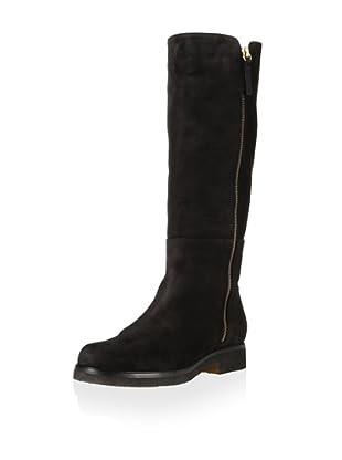 Tapeet by Vicini Women's Flat Long Boot (Black)
