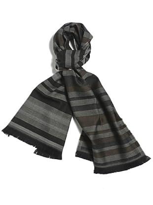 Lanerossi Sciarpa Malaga (nero/grigio)