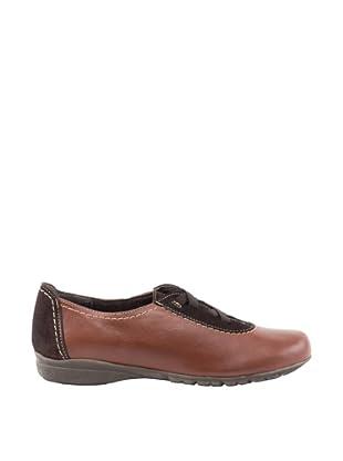 Liberitae Zapatos Dos Elásticos (Chocolate)