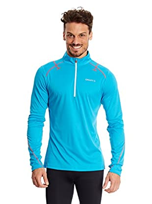 Craft Longsleeve Running Performance Halfzip blau