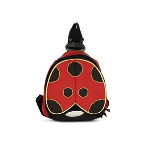 Samsonite Kids Unisex Red & Black Ladybug Bag