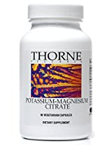 Thorne Research Potassium-Magnesium Citrate, 90 Vegetarian Capsules