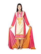7 Colors Lifestyle Womens Cotton Straight Salwar Suit Set (Alydr2009Aira _Multi-Coloured _Free Size)