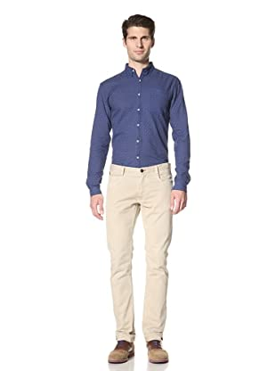 Fremont Men's ACE Pocket Woven Shirt (Blue Dot)