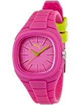 Puma Analog Pink Dial Women's Watch - 89225303