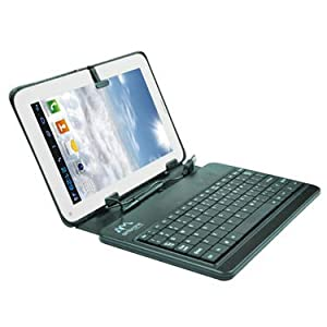 Combo of Ambrane Calling King AC770 Calling Tablet - White + Calling Tablet Keyboard