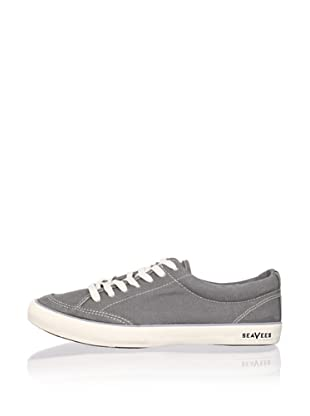 SeaVees Men's Lace-Up Tennis Sneaker (Tin Grey)