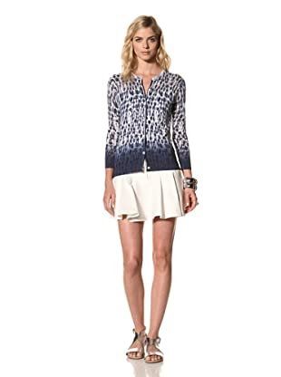 Thakoon Addition Women's Tie Dye Cardigan (Navy)