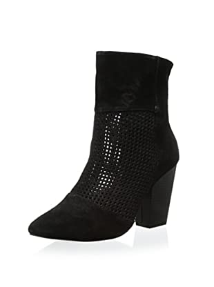Kelsi Dagger Women's Zoya Perforated Bootie (Black)