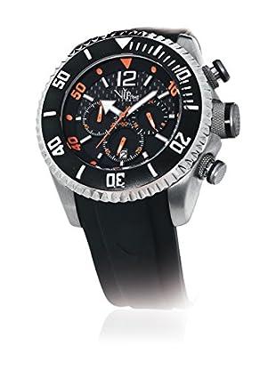 Vip Time Italy Uhr mit Japanischem Quarzuhrwerk VP5042BK_BK schwarz 50.00  mm