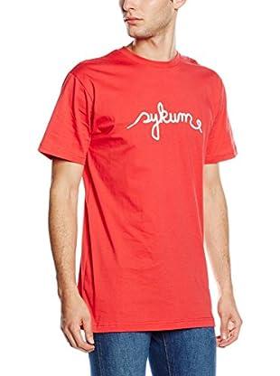 Sykum Camiseta Manga Corta Lace