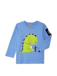 Monster Republic Boy's Dino Happens Tee (Blue)