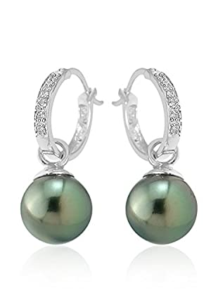 So Fine Pearls Pendientes oro blanco 18 ct