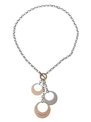 Rebecca XGRKXB18 - Collar de mujer de acero inoxidable y bronce