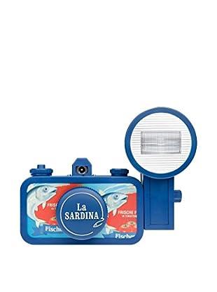 Lomography La Sardina Camera and Flash Fischer's Fritzes, Blue